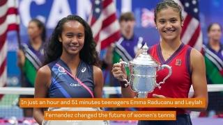 Tennis News : Raducanu rolls into the Record Books after US Open Triumph