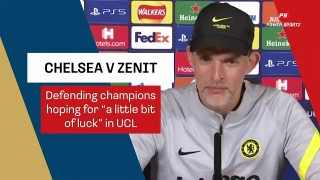 Football News : Chelsea hoping for a little bit of luck to defend UCL title