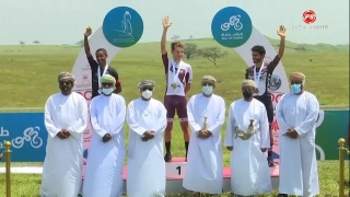Cycling News : Bilal Al Saadi takes Stage 3 of the Tour of Salalah in mountain finish